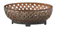 Lattice Weave Bowl in Copper Bronze