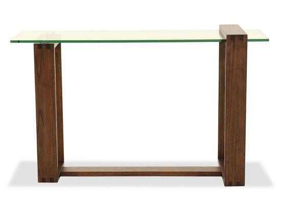 Rectangular Sofa Table in Acorn
