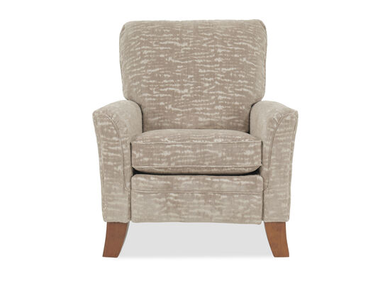 High Leg Contemporary 35.5'' Recliner in Champagne