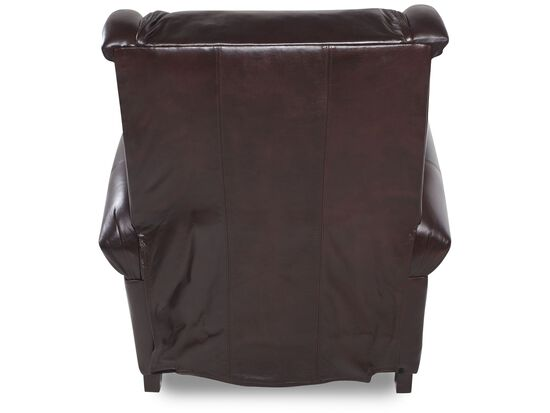 Bernhardt Warner Leather Recliner