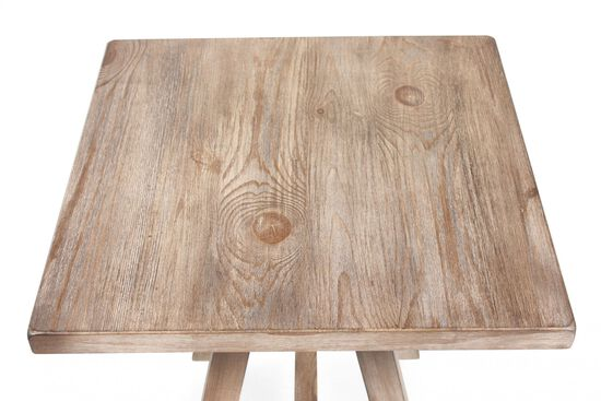 Ashley Distressed Pine Accent Table