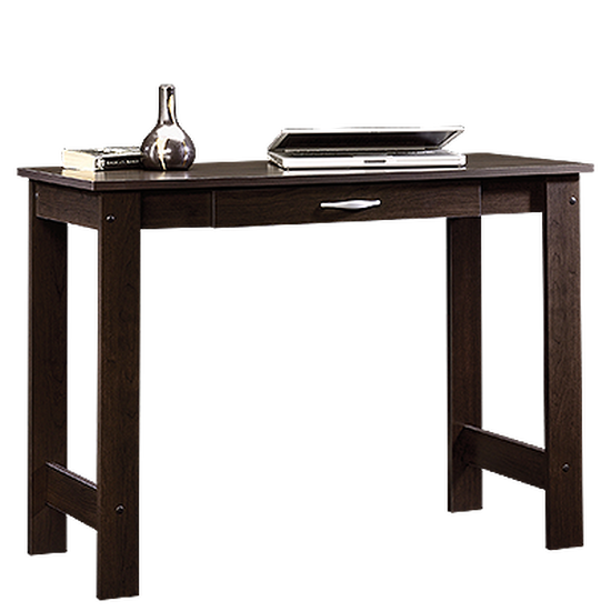 """39"""" Casual One-Drawer Writing Table in Cinnamon Cherry"""
