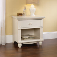 "26"" Traditional Nightstand in Antiqued White"