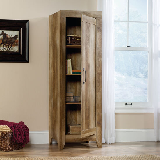 MB Home Ace Storage Craftsman Oak Narrow Cabinet