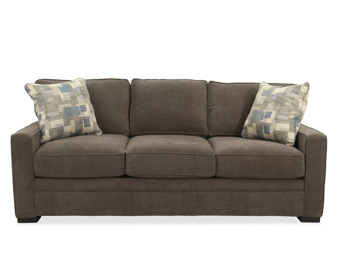 Casual sofa amorose chenille casual sofa set sets thesofa for Casual couch