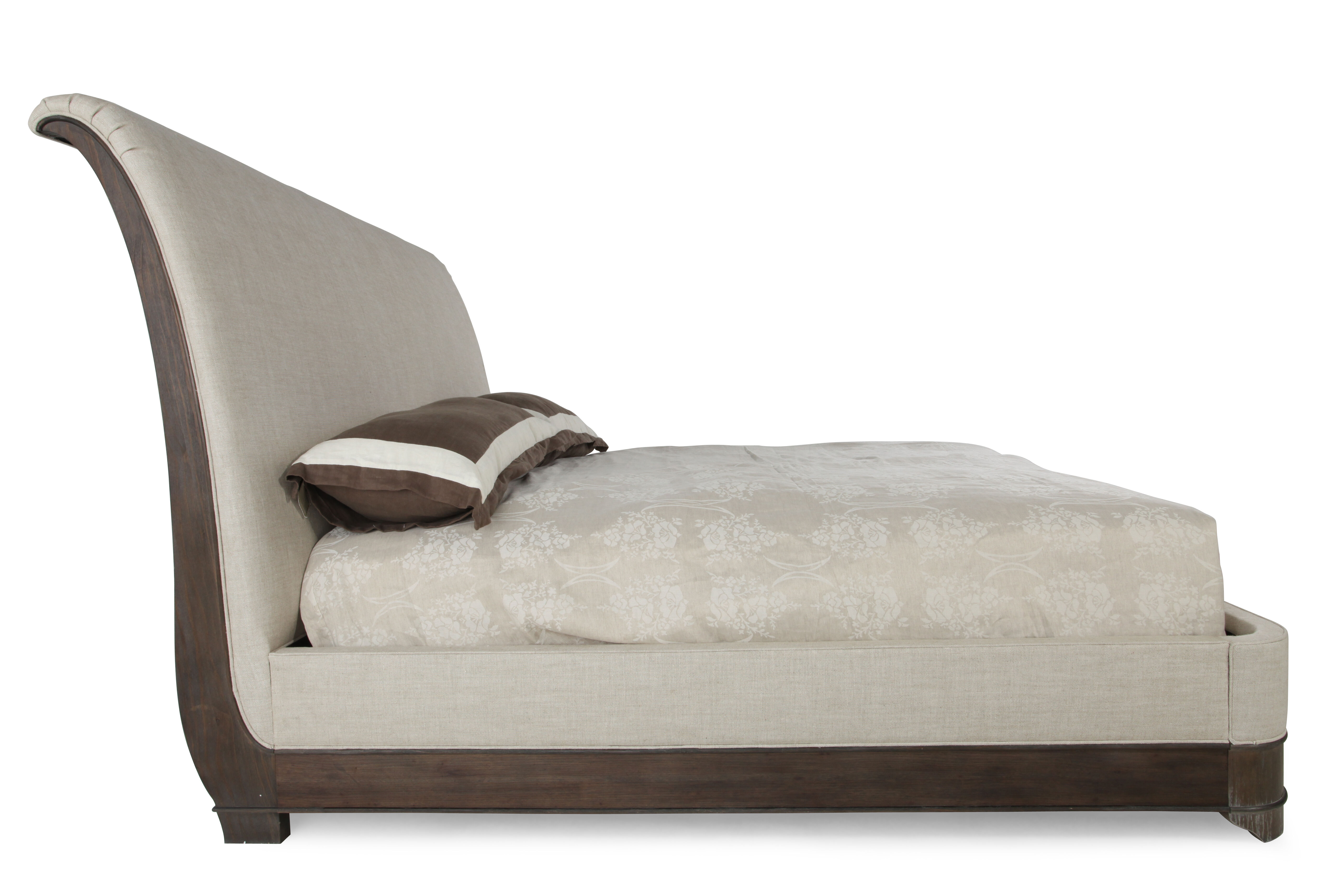 63u0026quot; Radiata Solid Sleigh Bed ...
