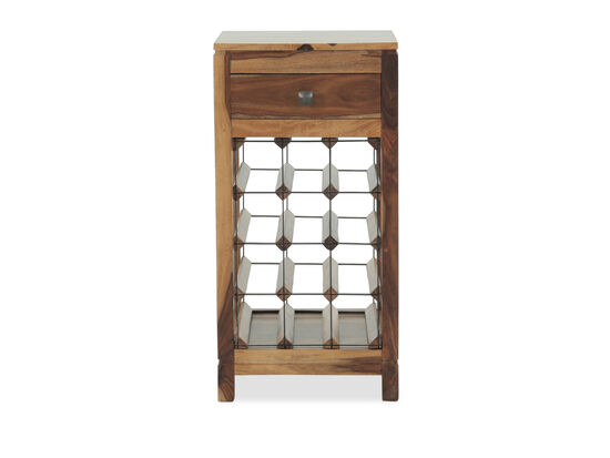 32'' One-Drawer Traditional Accent Wine Cabinet