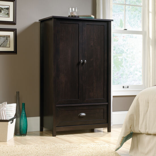 MB Home Canton Estate Black Armoire