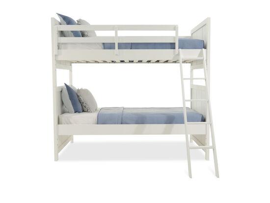Legacy Tara White Twin Over Twin Bunk Bed