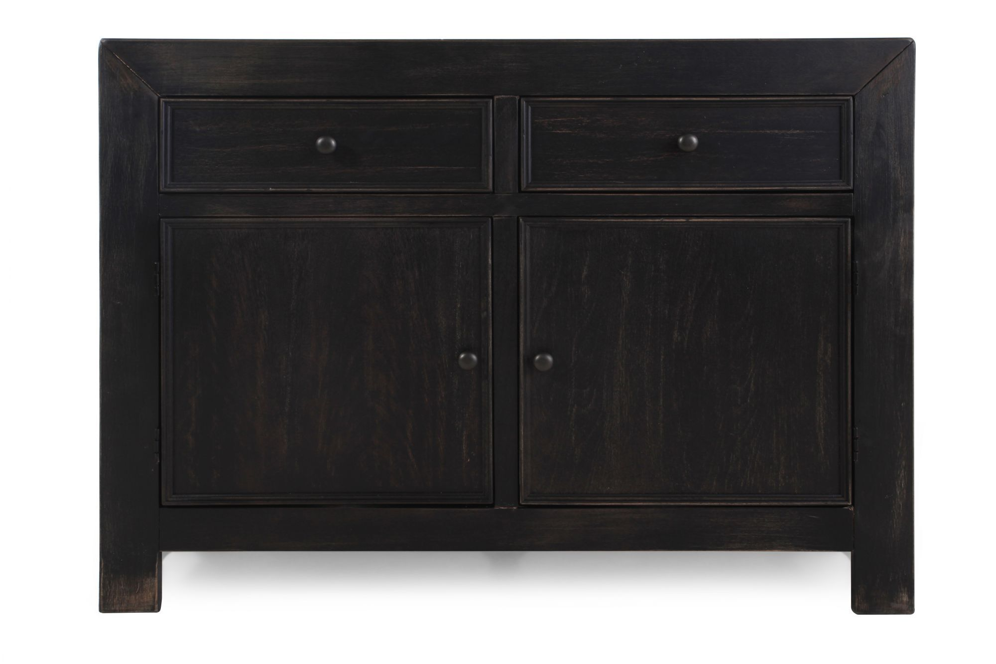 Exceptionnel Images Two Door Casual Accent Cabinet In Weathered Black Two Door Casual Accent  Cabinet In Weathered Black