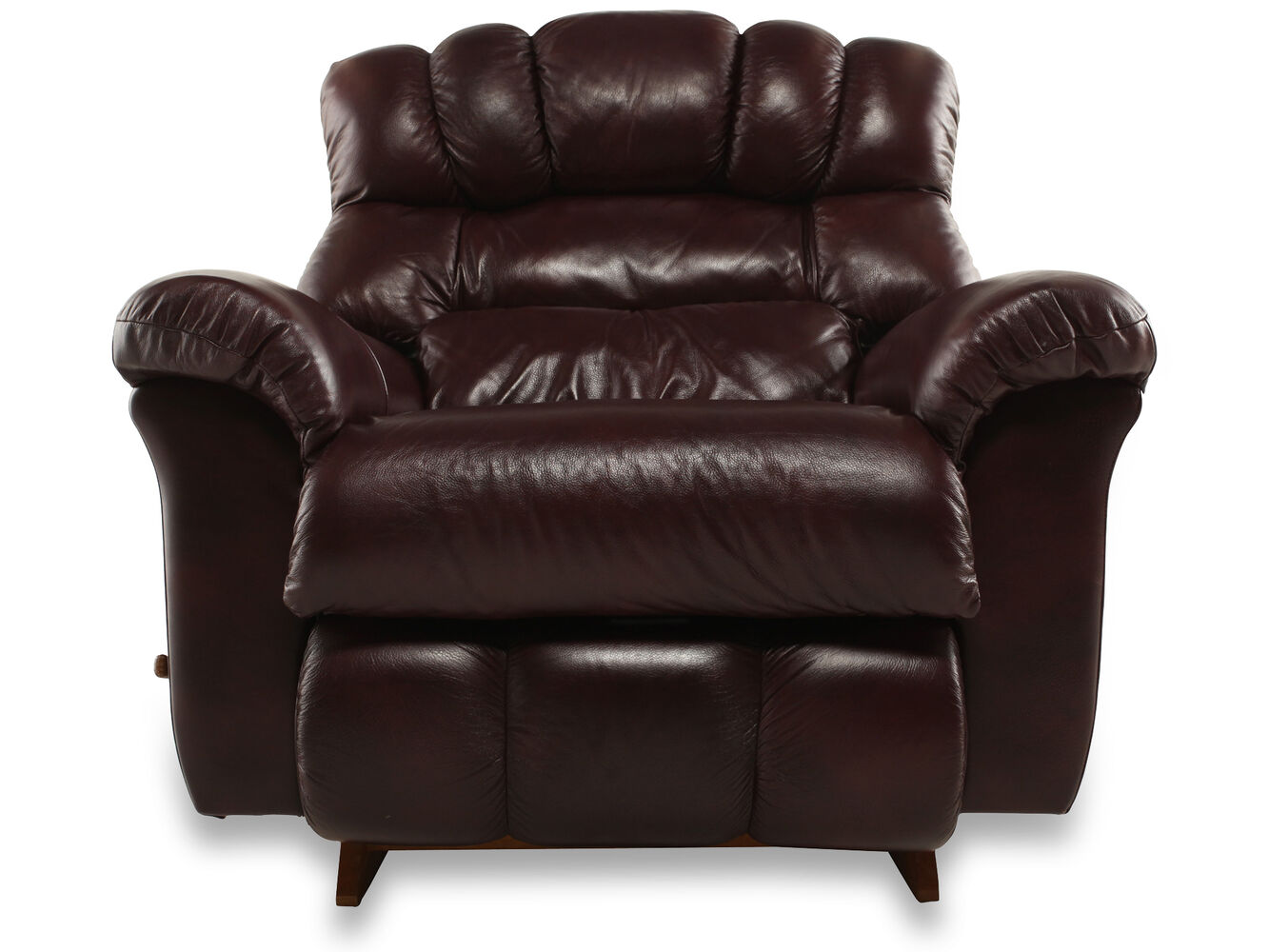 Casual Leather 46 Recliner In