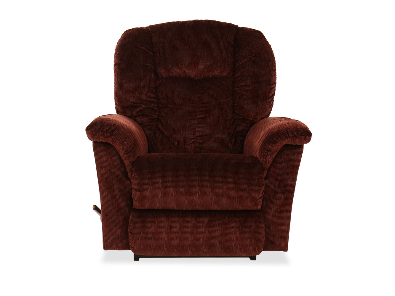 Pillow Back Casual 40 Rocker Recliner In Red Mathis