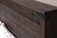 MB Home Central Avenue Coffee Oak Full/Queen Panel Headboard