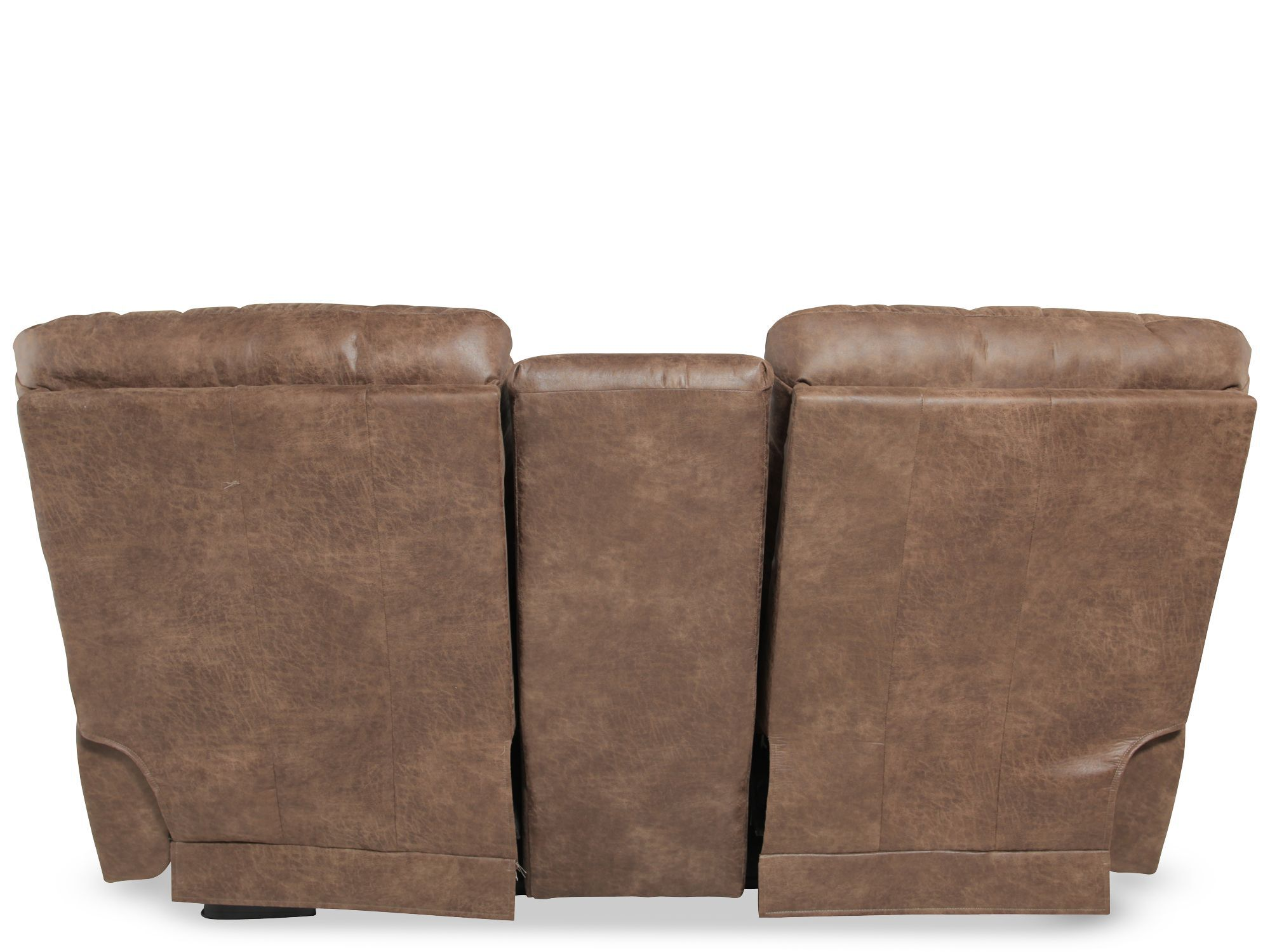 lazboy james silt performance leather double recliner