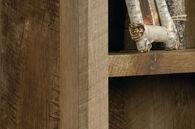 MB Home Morgan Craftsman Oak 5-Shelf Bookcase