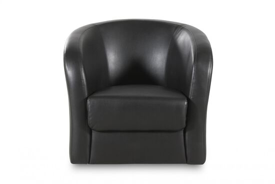 Boulevard Onyx Swivel Chair