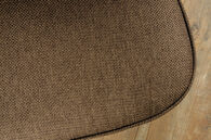 MB Home Fusionville Becket Brown Accent Chair