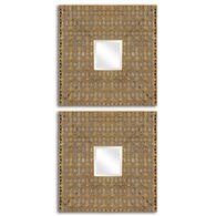 Uttermost Adelina Square Mirrors, S/2