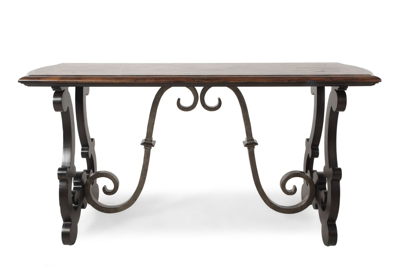 Scrolled pedestal traditional sofa table in aged pewter mathis scrolled pedestal traditional sofa table in aged pewter geotapseo Gallery