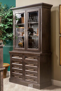 Ashley Townser Home Office Credenza and Hutch