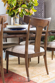 Thomasville Ellen DeGeneres Lania Walnut Side Chair