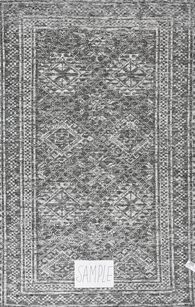 "Lb Rugs|S-14 (kp)|Hand Made Wool/bamboo Silk 2'-6"" X 12'