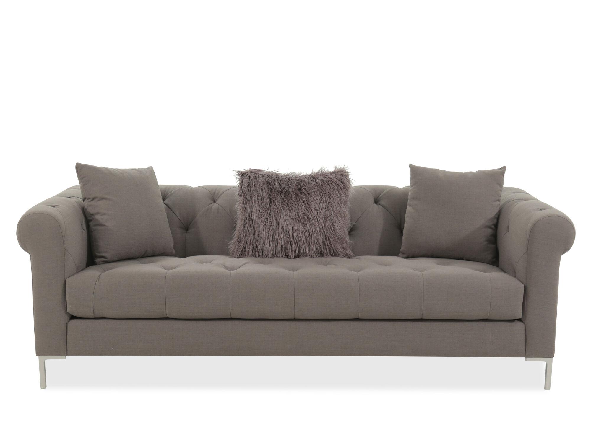 Jonathan Louis Carter Gray Sofa