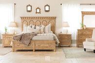 Magnussen Home Graham Hills Wheat Queen Bedroom Suite