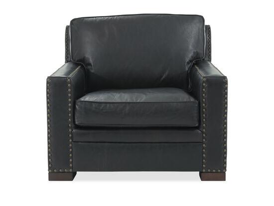 Henredon Leather Black Chair