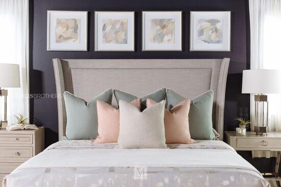 Bernhardt Criteria King Upholstered Bed