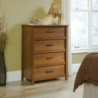 "41.5"" Contemporary Four-Drawer Chest in Milled Cherry"