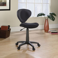MB Home Embassy Black Deluxe Task Chair
