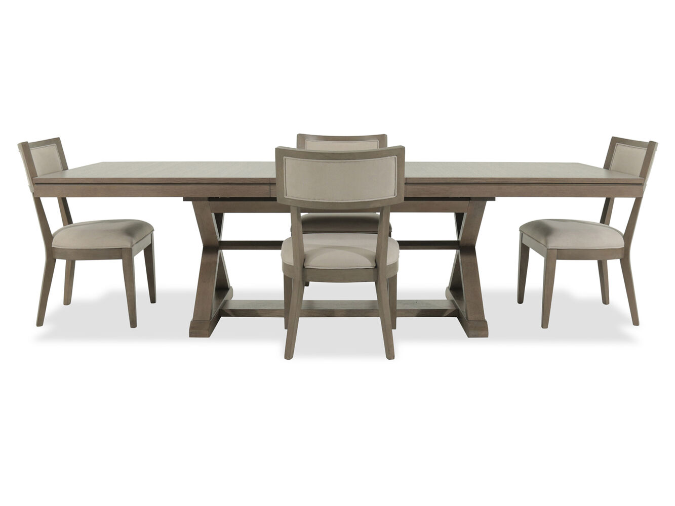 Legacy Highline Brown Five Piece Dining Set