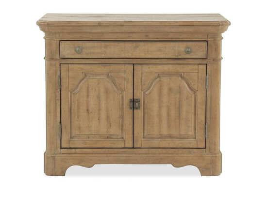 "29.5"" Traditional Two-Door Bachelor's Chest in Cracked Wheat"