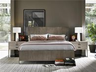 Universal Modern Keaton Charcoal Queen Bed