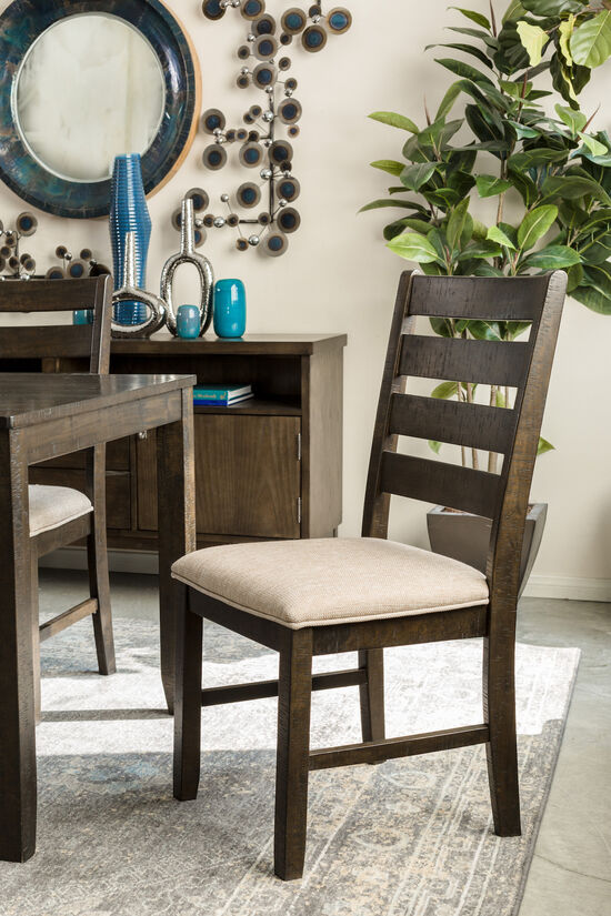 Seven-Piece Contemporary 60'' Dining Set in Brown