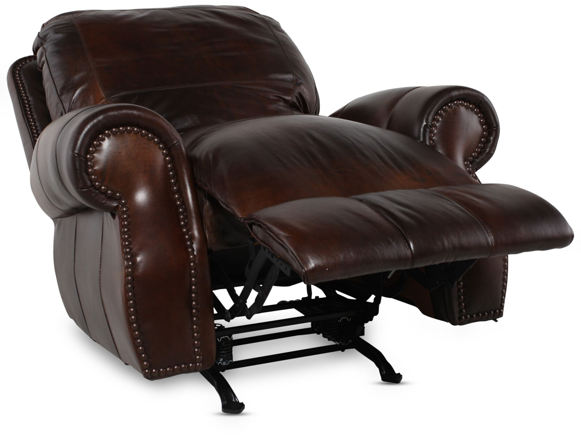 USA Leather Cowboy Rocker Recliner  sc 1 st  Mathis Brothers & USA Leather Cowboy Rocker Recliner | Mathis Brothers Furniture islam-shia.org