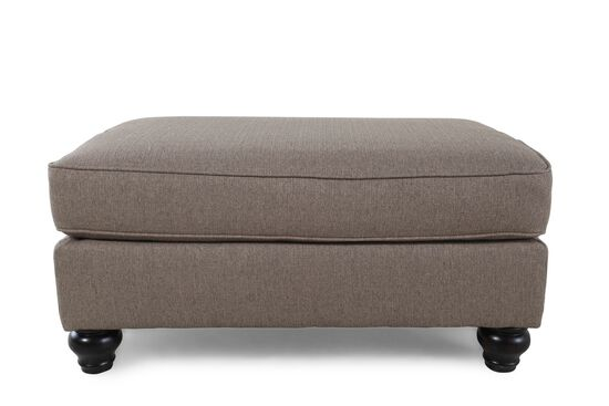 "Casual 40.5"" Ottoman in Brown"