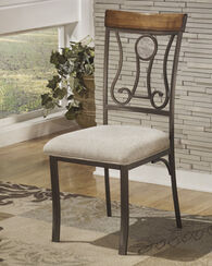 Ashley Hopstand Brown Dining Upholstered Side Chair