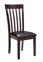 Rake Back 40'' Side Chair in Dark Brown