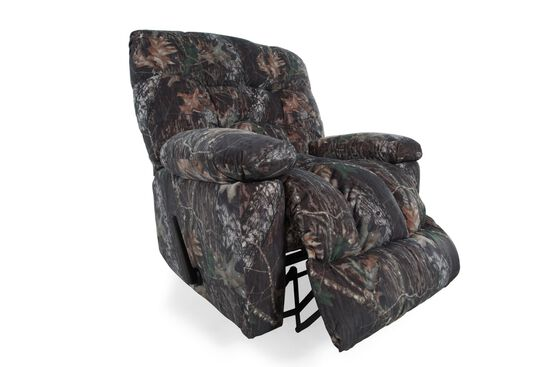 "Camouflage-Patterned Casual 43"" Recliner"