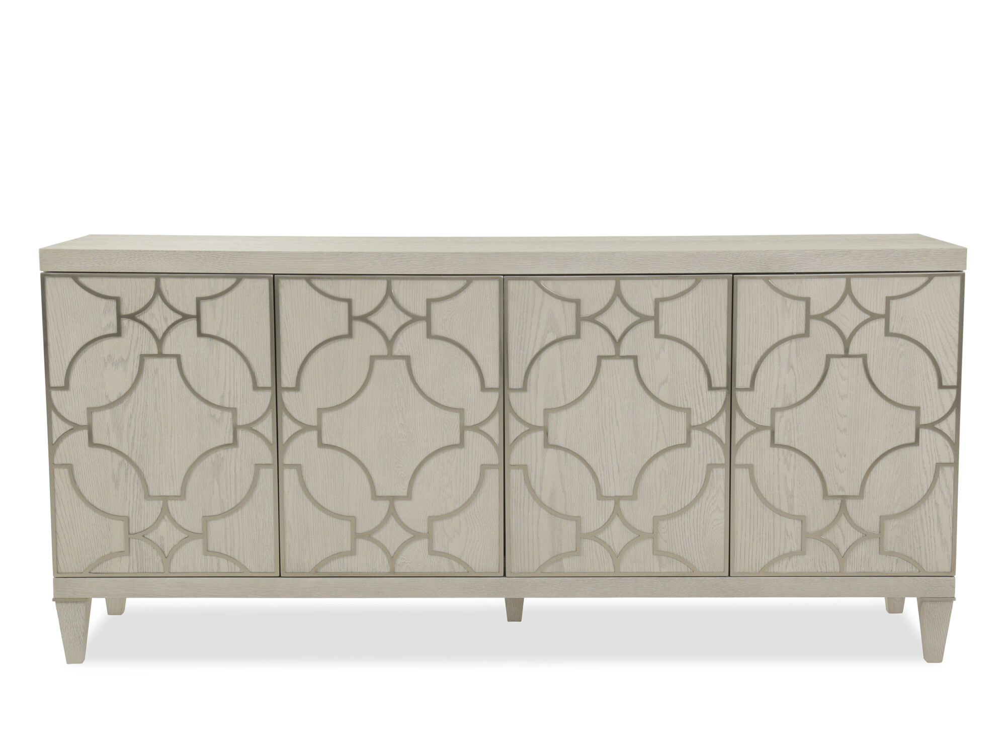 Images Grille Overlay Modern Entertainment Console In Light White Grille  Overlay Modern Entertainment Console In Light White