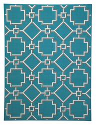 Ashley Zarek Turquoise Medium Rug