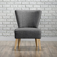 MB Home Regent Cinder Gray Accent Chair