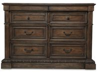Hooker Rhapsody Brown Media Chest