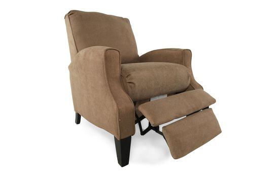 "Contemporary 28"" Recliner in Brown Truffle"