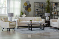 Jonathan Louis Halford Estate Beige Sofa