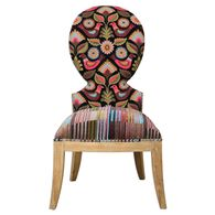 Uttermost Cruzita Patterned Armless Chair