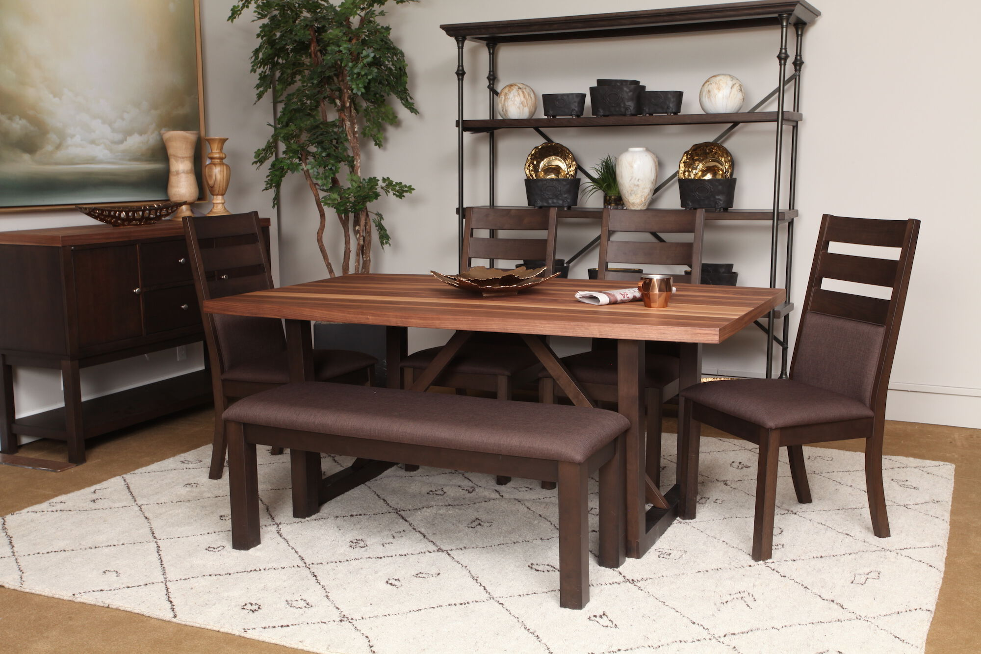 winners only venice leg table - Winners Only Furniture