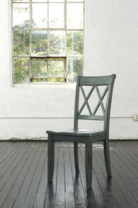 Ashley Mestler Blue/Green Dining Room Side Chair